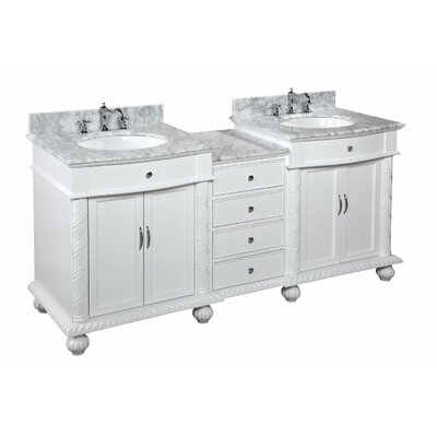 "Buckingham 72"" Double Bathroom Vanity Set Product Photo"
