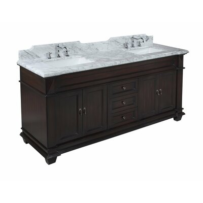 "Elizabeth 72"" Double Bathroom Vanity Set Product Photo"