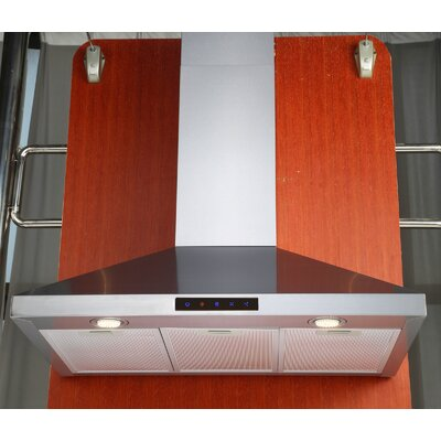 "Kitchen Bath 36"" 412 CFM Wall Mount Range Hood Product Photo"
