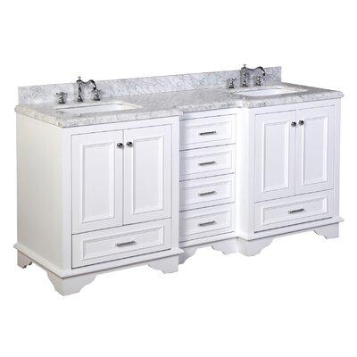 """Nantucket 72"""" Double Bathroom Vanity Set Product Photo"""