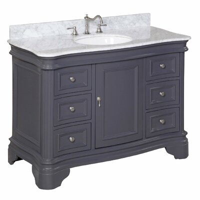 "Katherine 48"" Single Bathroom Vanity Set Product Photo"