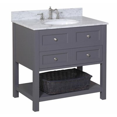 "New Yorker 36"" Single Bathroom Vanity Set Product Photo"
