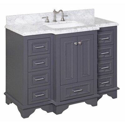 "Nantucket 48"" Single Bathroom Vanity Set Product Photo"