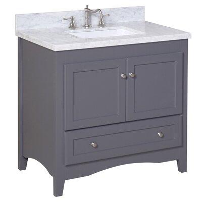 "Abbey 36"" Single Bathroom Vanity Set Product Photo"