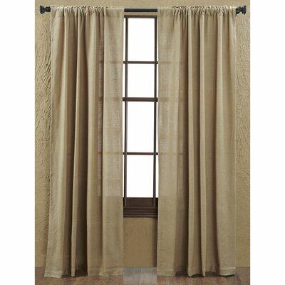 Burlap Curtain Panel (Set of 2) Product Photo