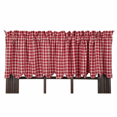 "Breckenridge Scalloped Lined 72"" Curtain Valance Product Photo"