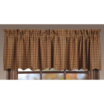 "Millsboro Scalloped Lined 72"" Curtain Valance Product Photo"
