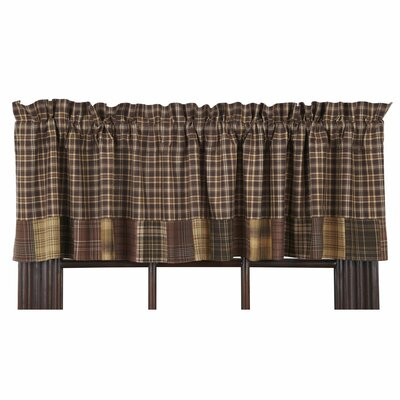 "Prescott Block Border 72"" Curtain Valance Product Photo"