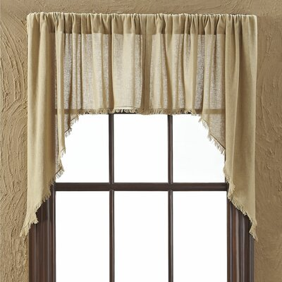 """Tobacco Swag 36"""" Curtain Valance (Set of 2) Product Photo"""