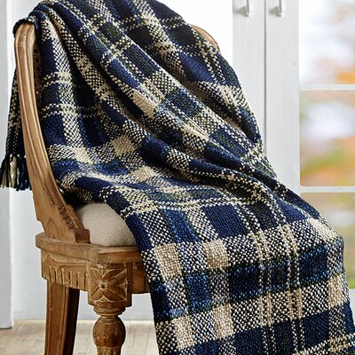 Columbus Woven Throw by VHC Brands