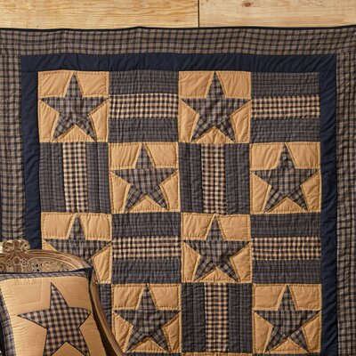 Teton Star Quilted Cotton Throw by VHC Brands
