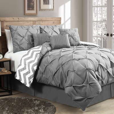 Ella 7 Piece Reversible Comforter Set by Geneva Home