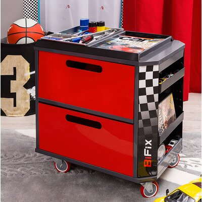 Champion GTI Racer Personalized Toy Storage Box by Cilek