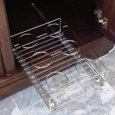Pull Out Cabinet Shelf/Bath Bottle Organizer by Axis International