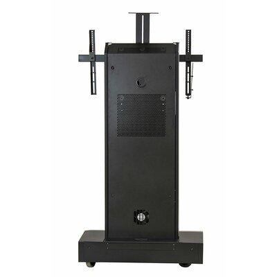 "Moble Telepresence Stand with Single Monitor Mount for 40"" -80"" Displays Product Photo"