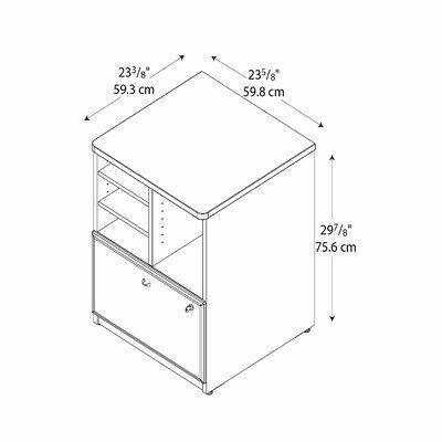 Bush Business Furniture Series A Storage Cabinet