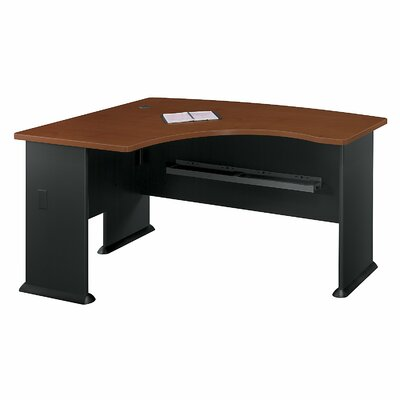 Bush Business Furniture Series A L-Bow Desk Shell
