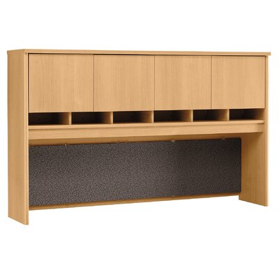 "Bush Business Furniture Series C: 43"" H x 71"" W Hutch  (4-Door)"