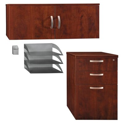 Bush Business Furniture Office-in-an-Hour Storage Accessory Kit