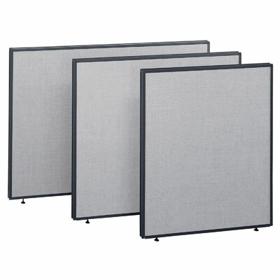 """Bush Business Furniture ProPanel 42.87"""" x 48"""" One Panel Partition"""