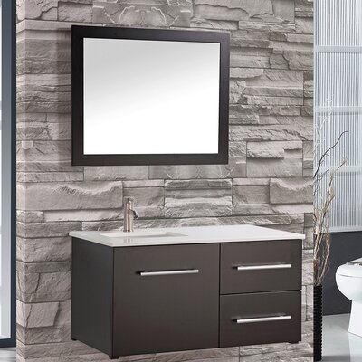 Nepal 41 single sink wall mounted bathroom vanity set for Kitchen sink in nepal