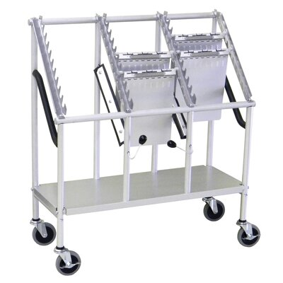 3 Tier Wheeled Chart Carrier by Omnimed