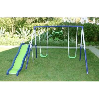Sierra Vista Metal Slides and Swing Set Product Photo