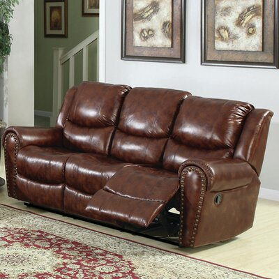 Oxford Double Reclining Sofa by Sunset Trading