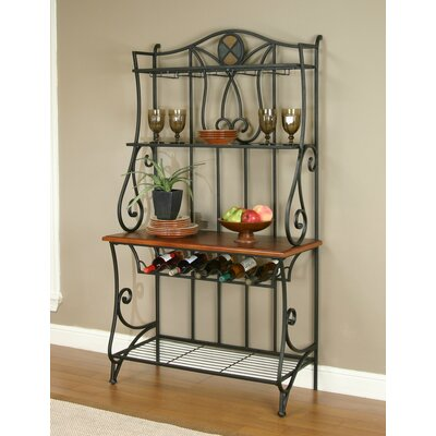 Vail Étagère Bakers Rack by Sunset Trading