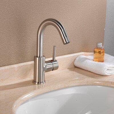 Single Handle Single Hole Bathroom Faucet Product Photo