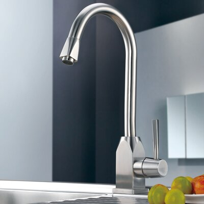 Single Handle Single Hole Kitchen Faucet Product Photo