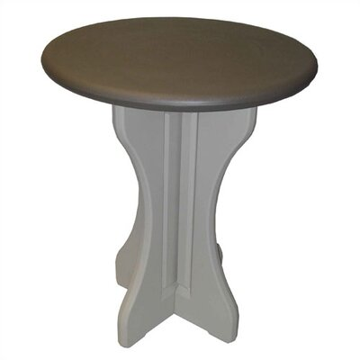 Leisure Accents Round Patio Bar Table