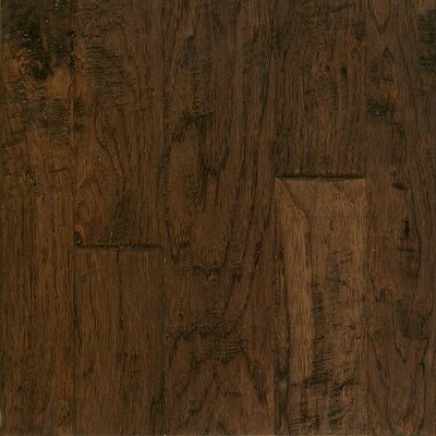Artesian Random Width Engineered Hickory Hardwood Flooring in Barrel Brown by Armstrong