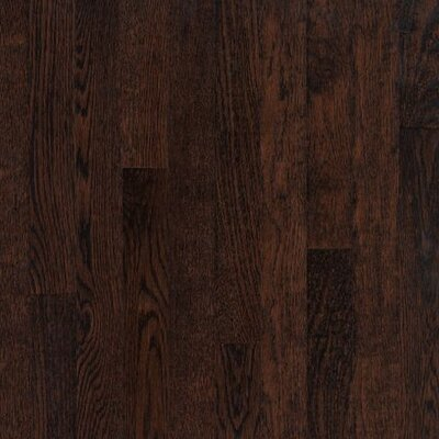 Armstrong SAMPLE - Kingsford Strip Solid White Oak in Kona