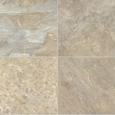 """Armstrong Alterna Reserve Moselle Valley 16"""" x 16"""" x 4.06mm Luxury Vinyl Tile in Honeysuckle"""