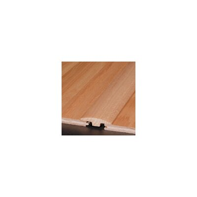 "Armstrong 0.25"" x 2"" x 78"" Red Oak T-Molding in Windswept Gray"