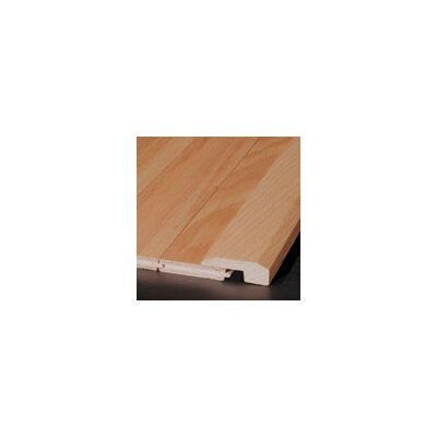 """Armstrong 0.63"""" x 2"""" x 78"""" Red Oak Threshold in Black Olive"""