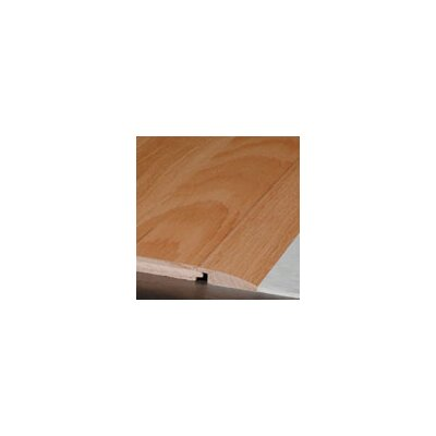 """Armstrong 0.38"""" x 1.5"""" x 78"""" Red Oak Reducer in Prairie Brown"""