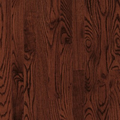 """Armstrong Yorkshire 3-1/4"""" Solid White Oak Hardwood Flooring in Cherry Spice"""