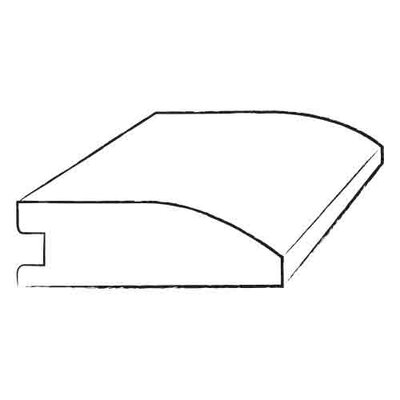 "Bruce Flooring 0.75"" x 2.25"" x 78"" White Oak Reducer in Cabernet Large"