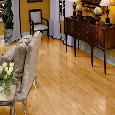 "Bruce Flooring Fulton 3-1/4"" Solid Red Oak Hardwood Flooring in Natural"