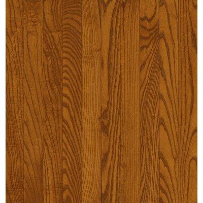 Bruce Flooring SAMPLE - Dundee™ Strip Solid Red / White Oak in Gunstock