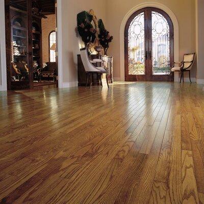 "Robbins Ascot Strip 2-1/4"" Solid Oak Hardwood Flooring in Topaz"