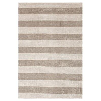 Konstrukt Gray/Black Stripe Rug by Jaipur Rugs