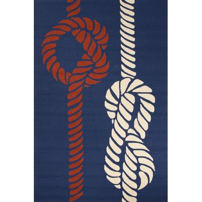 June Indoor/Outdoor Rug in Red, White & Blue by Jaipur Rugs