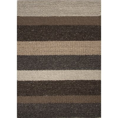 Shelton By Rug Republic Wool Textured Brown/Gray Area Rug by Jaipur Rugs