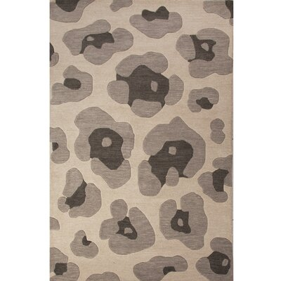 National Geographic Home Wool Gray Hand Tufted Area Rug by Jaipur Rugs