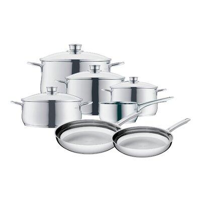 Diadem Plus 11 Piece Cookware Set by WMF