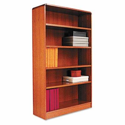 "Alera® Radius Corner 60"" Standard Bookcase"