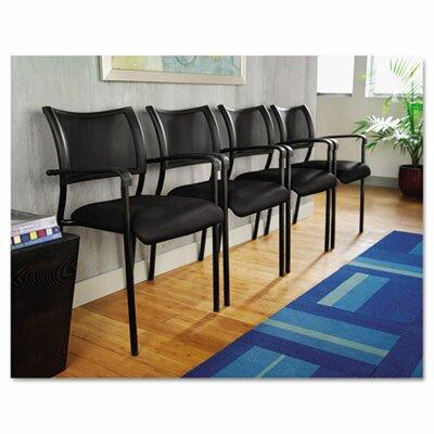 Alera® Eikon Series Stacking Mesh Guest Chair